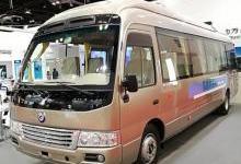 氢能源时间表公开 陆地方舟氢能源客车新品在深发布