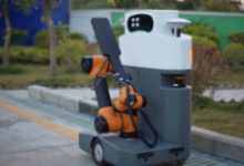 """巴旭优艾智合机器人参评""""OFweek2019'极速分分彩首页杯'人工智能技术创新奖"""""""