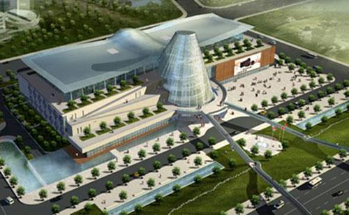该工程项目是继青岛火车站103千瓦非晶硅光伏屋面工程以后