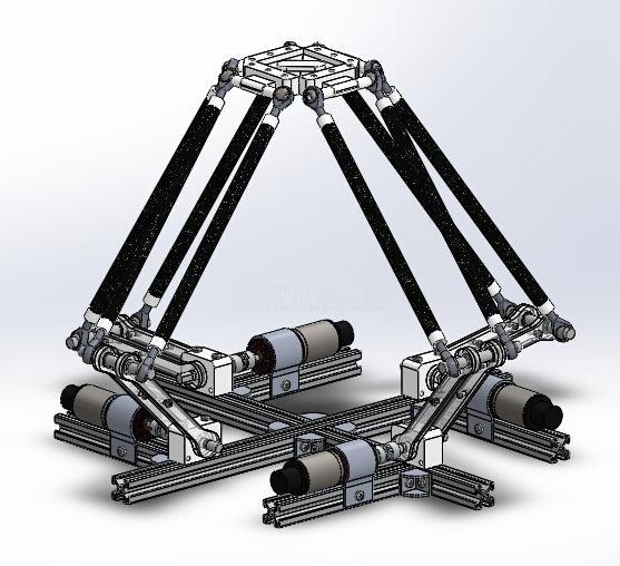 说智能 什么是并联工业机器人