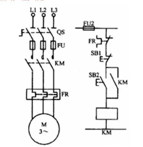 57,起动,自保控制电路的工作原理