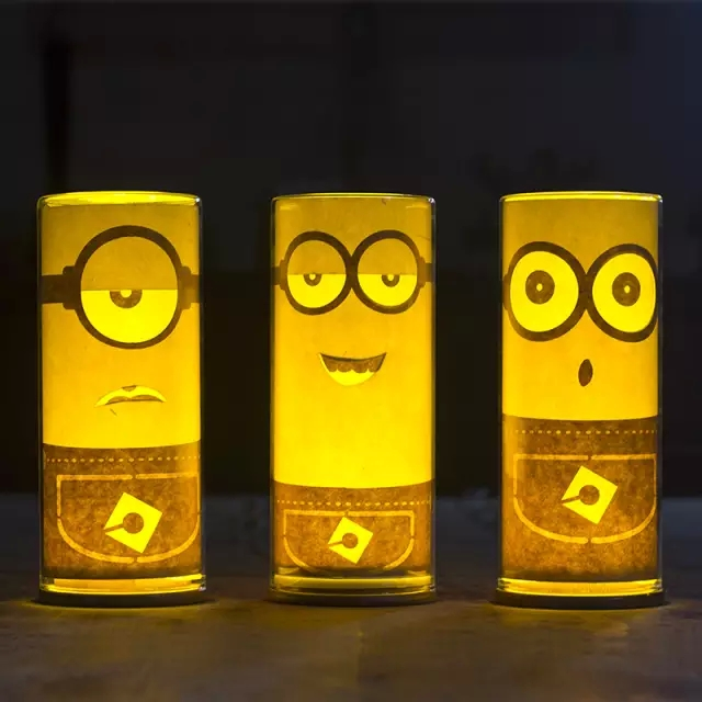 这些充满个性的led照明灯具陪你过圣诞节:除了发光 还能卖萌!