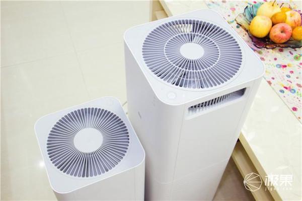 小米空气净化器两代横评:看看小米空气净化器2性能提升多少?