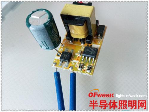 拆解并测试申花3W LED天花射灯 看看与欧普/雷士的产品有哪些不同?