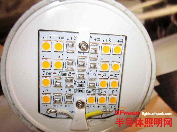 暴力拆解飞利浦8W LED球泡灯 感觉挺高档的!