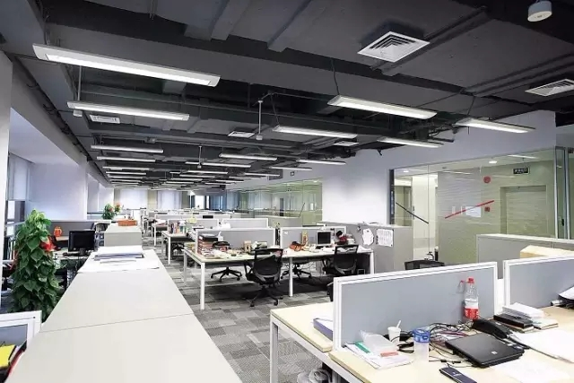 办公室照明设计:微软,谷歌的办公室可不止有休闲装饰