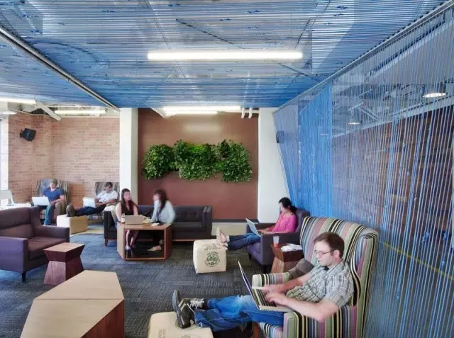 办公室照明设计:微软、谷歌的办公室可不止有休闲装饰