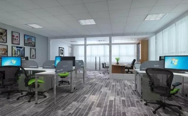 办公室照明设计 微软 谷歌的办公室可不止有休闲装饰
