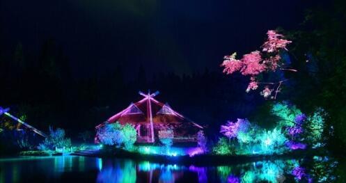 国庆假期魔都多场LED灯光秀齐上阵