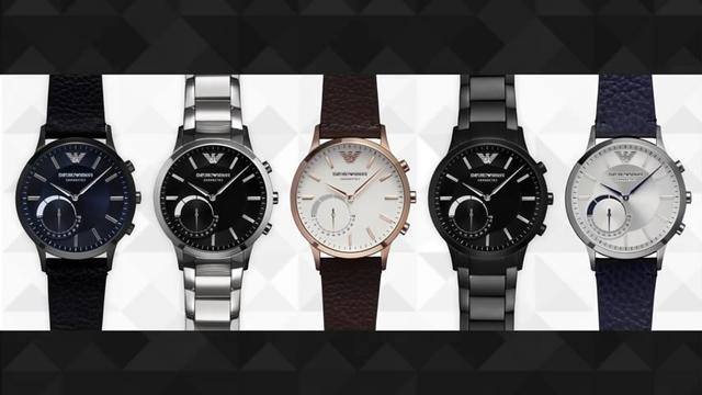 """阿玛尼也来搞智能手表啦!传统风格智能""""心"""""""