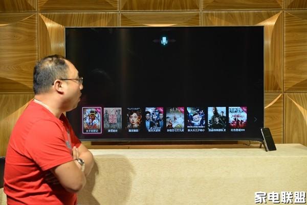 长虹人工智能电视Q3R评测:想看就说 三秒即播