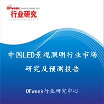 中国LED景观照明行业市场研究及预测报告