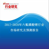 六氟磷酸锂行业市场研究及预测报告