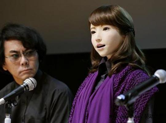 宅男福音:日本美女机器人亮相