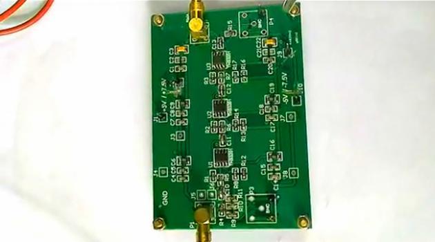 基于医用传感器信号宽频带放大器的设计