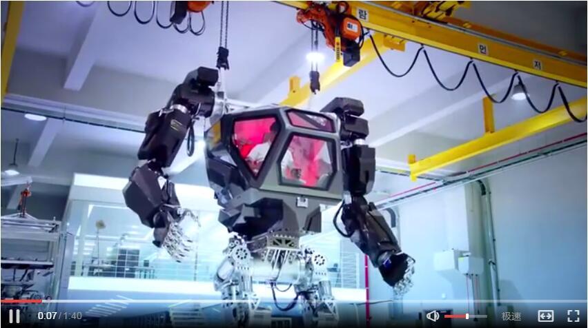 韩国开始试验巨型机器人,高达即将面世,宇宙第一国发力了