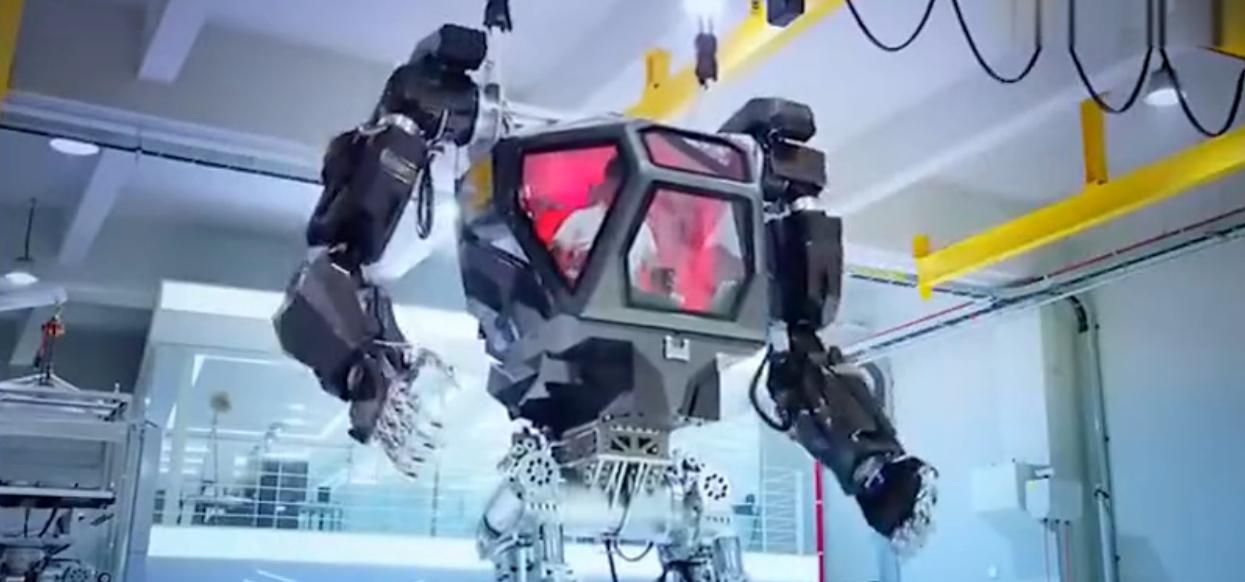 韩国未来科技:正在测试的巨大机器人
