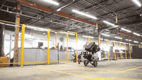 波士顿动力又出神作!飞驴机器人!亮瞎眼了!