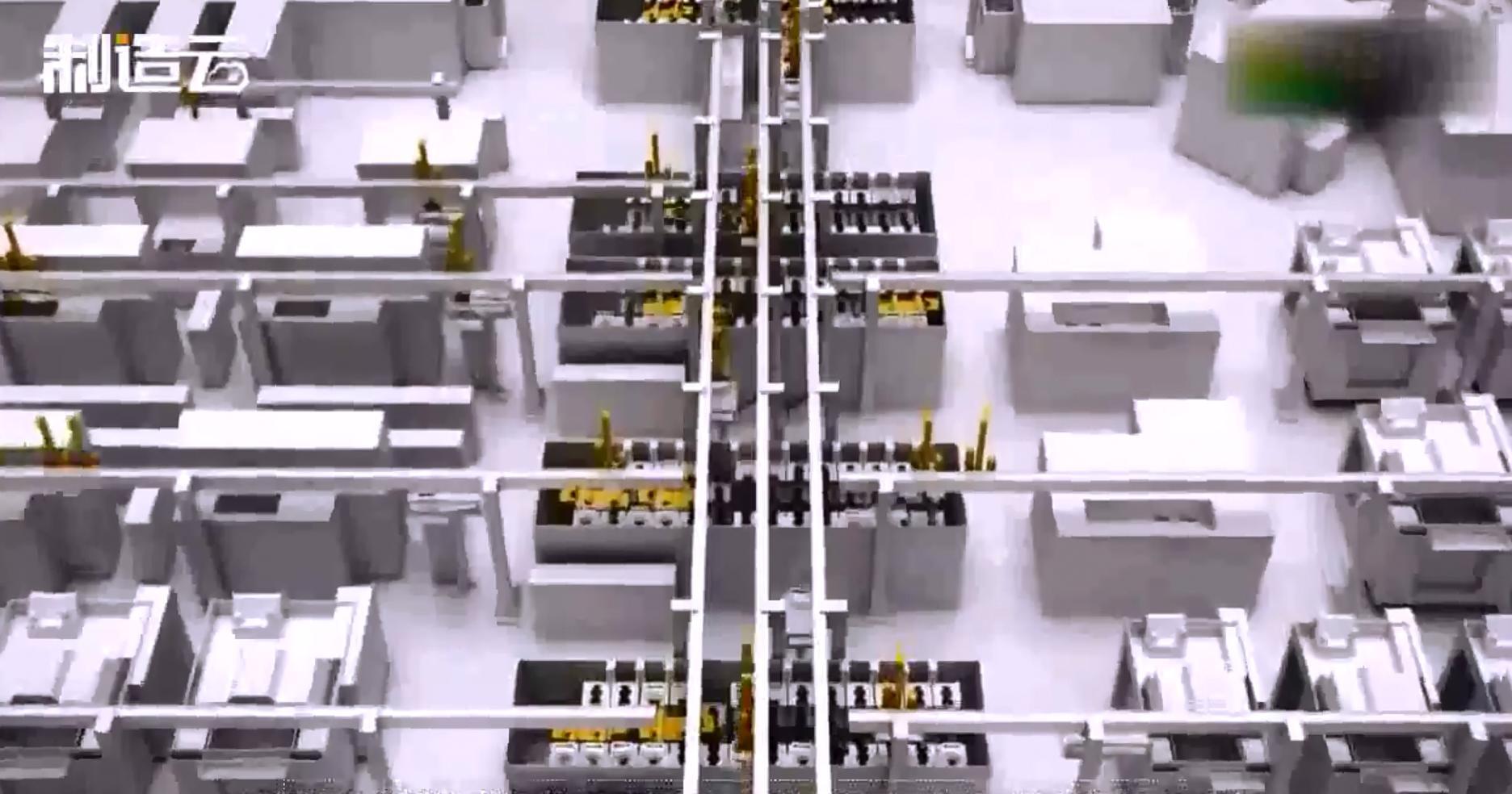 德国宝马自动化无人工厂视频