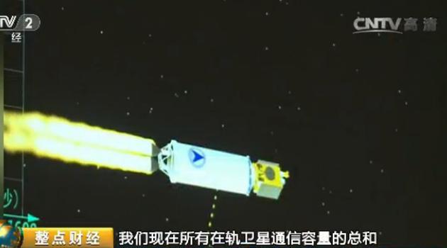 我国首颗高通量通信卫星发射成功 通信技术 产业新高度
