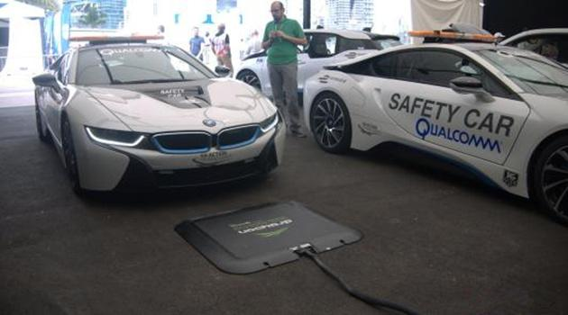 宝马电动汽车可以无线充电