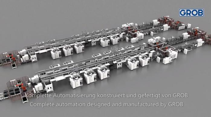 世界制造看德国,高科技全自动化生产线