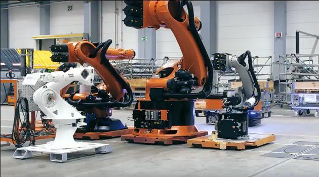 看看人家德国工业机器人是怎么宣传自己的