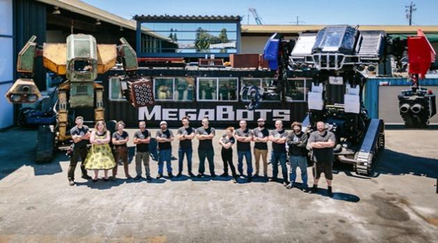 Megabots团队研发的格斗机器人EaglePrime