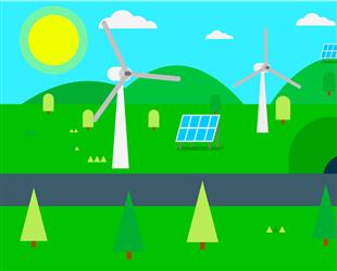 9月新疆风电总发电量212.4亿千瓦时