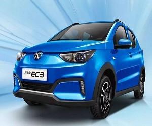 10月新能源车销量,北汽EC系列破2万