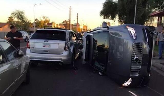 Uber无人车撞死行人 自动驾驶再蒙阴影