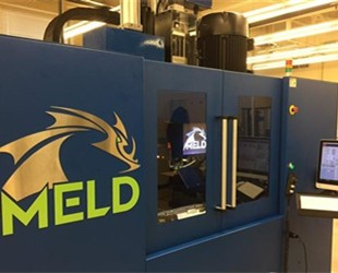 MELD Manufacturing Corporation推出第一款不熔融的金属3D打印机