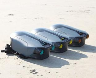 全球首款3D打印水下喷气背包 每小时最高可达8英里