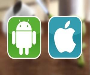 智能手机市场:苹果VS安卓手机