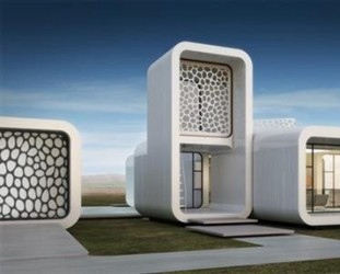 利用3D打印技术彰显未来主义建筑