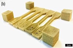 新型粉末材料:能够使用桌面激光粉末床融合机器3D打印彩色部件