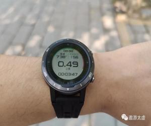 咕咚X3-RE智能运动手表体验:户外跑步定位更准