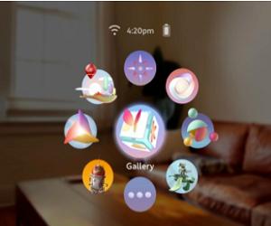 光粒科技推出75g的AR全息智能泳镜