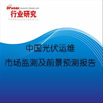 中国光伏运维市场监测及前景预测报告