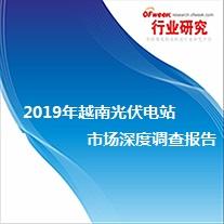 2019年越南光伏电站市场深度调查报告