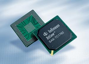 英飞凌推出汽车应用32位微控制器多核架构