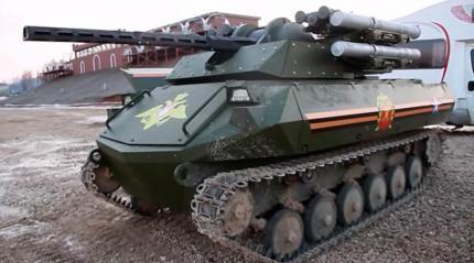 俄机器人战车究竟遇到了什么故障?