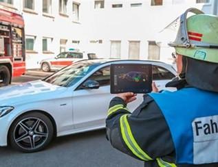 重大升级 奔驰救援辅助应用加入AR技术