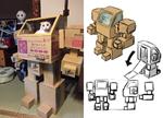 """让爱猫化身喵驾驶员  这对夫妻用纸箱替它打造""""专属机器人"""""""
