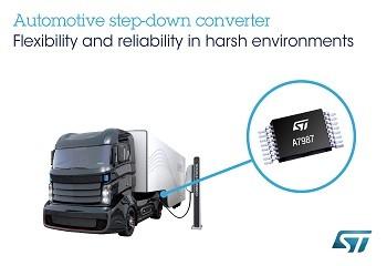 意法半导体发布新一代宽电压开关稳压器