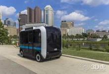 3D打印Olli班车筹集超过10亿美元的资金