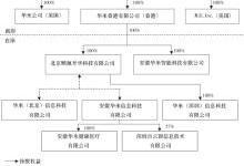 华米科技招股书披露公司结构