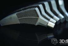 混合生物材料的3D打印髋关节植入物