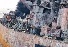 东海上油船爆燃 泄漏的油污染有多大?