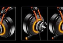 骨伽高性价比电竞耳机发布:自带LED灯